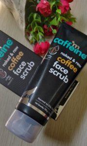 Coffee face scrub2 179x300 M Caffeine Coffee Face Scrub Review