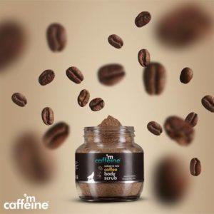 %name M Caffeine Coffee Body Scrub Review