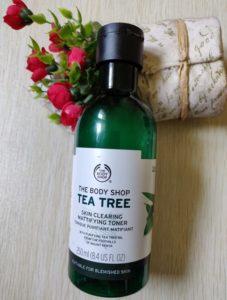 Body shop tea tree toner2 227x300 The Body Shop Tea Tree Mattifying Toner Review